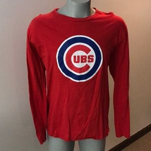 Fanatic CUBS Long Sleeve T-shirt Color Red